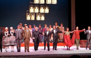 Curtain call of Amelia Goes to the Ball